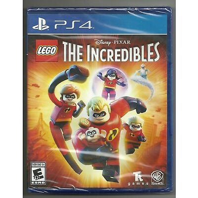 LEGO The Incredibles . BRAND NEW . sealed . Sony Playstation 4