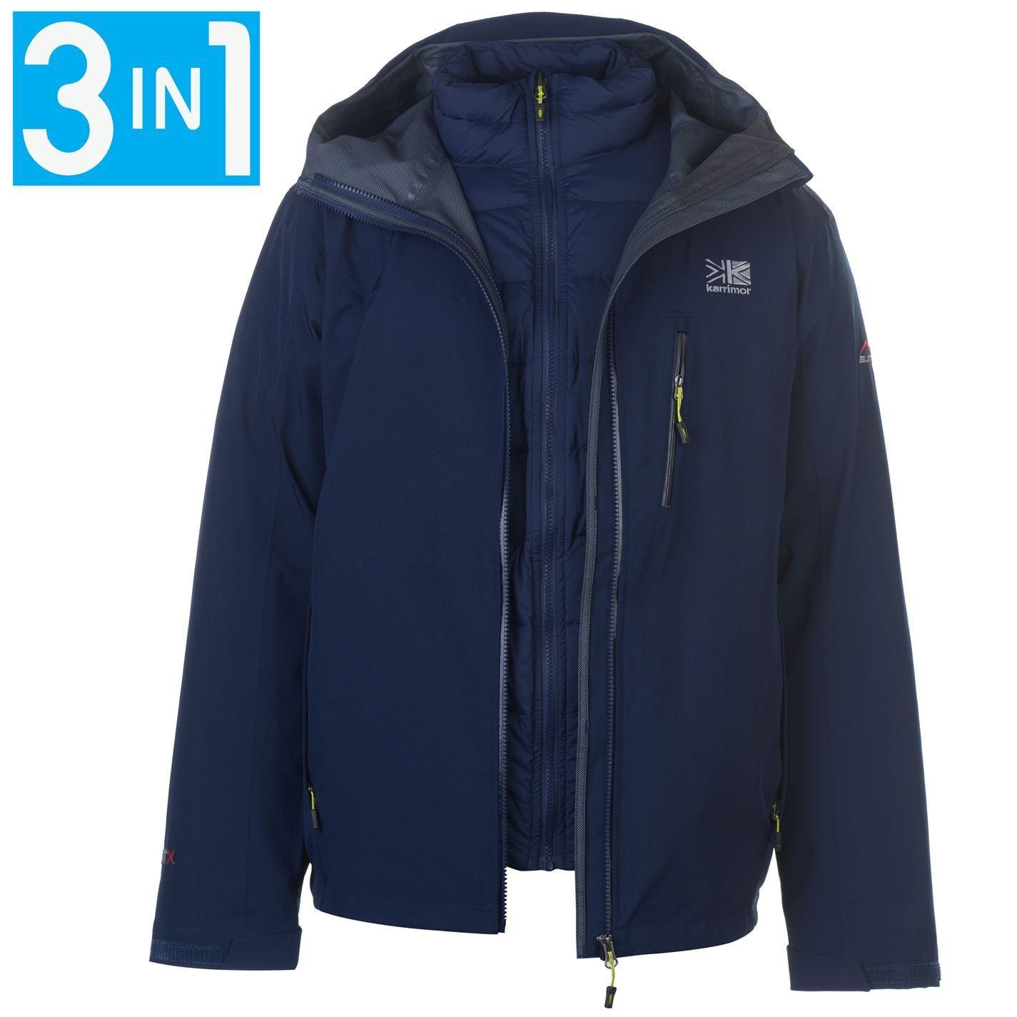 Karrimor Chaqueta  de abrigo para hombre 3in1 Merlin Top Mentonera Impermeable a prueba de viento  ventas en línea de venta