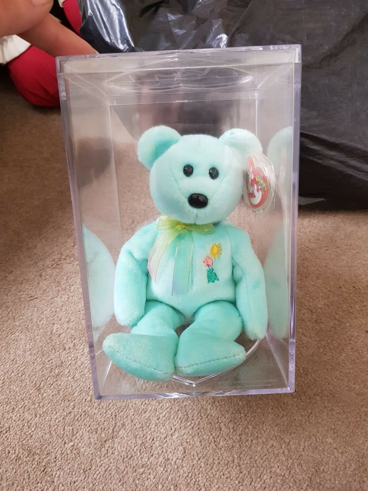 Ty Beanie Babie Retired Ariel Immaculate condition With Tag And Display Box