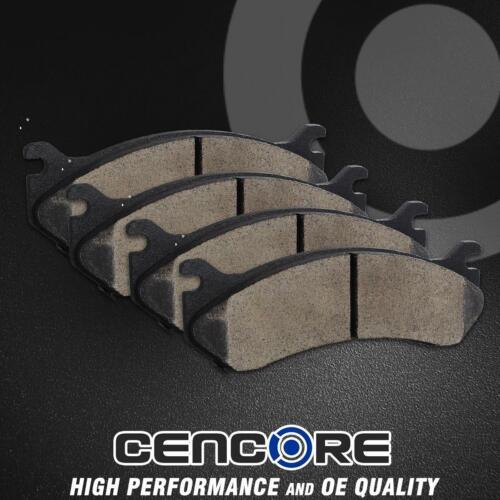 4 Brake Ceramic Pads for 2004-2008 Chevy Silverado 3500 2WD//4WD Dual Rear Wheels