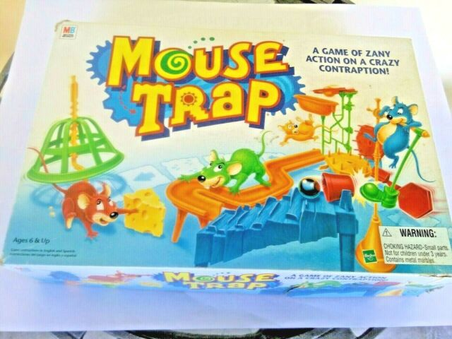 Vtg 1994 mouse trap A game of zany action on a  crazy contraption complete set