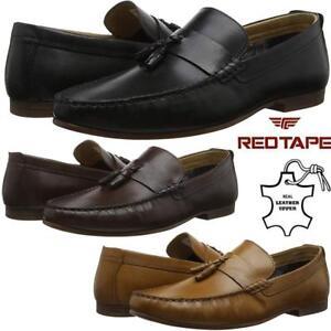 Homme-en-Cuir-Mocassins-A-Enfiler-Mocassins-Homme-elegant-Formel-Mariage-Chaussures-Taille