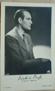 38284 Photo Ross Édition Autographe Ak Film Acteur Friedrich Benfer 1940