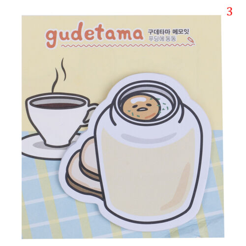 1PC Egg Sticky Note Memo Pad Note Planner Bookmark Sticker Paper Station sa  FF