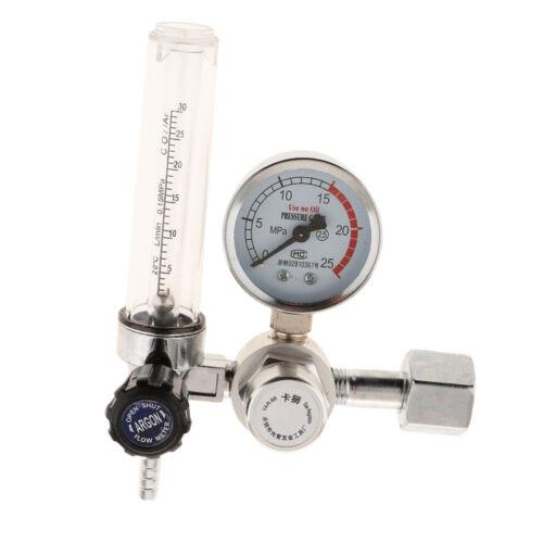 0-25Mpa Argon Pressure Reducer Mig Tig Control Valve Regulator Welding Tube