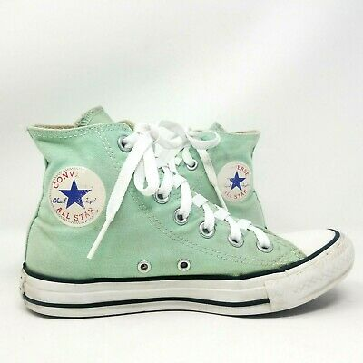 CONVERSE ALL STARS CHUCK TAYLOR MINT GREEN HIGH TOPS WOMENS SIZE 6MENS 4 | eBay