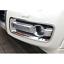 Fit For Mitsubishi Pajero 2015-2019 Chrome Front Head Fog Light Lamp Cover Trim
