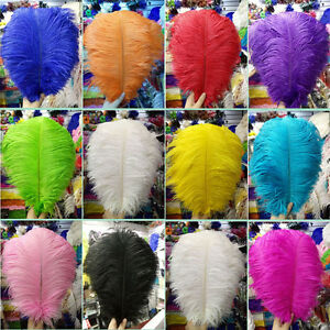Wholesale-10-100pcs-6-24-inch-15-60-cm-high-quality-natural-Ostrich-feathers