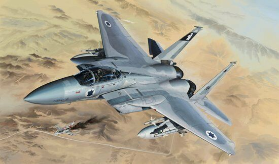 Great Wall Hobby 1 48 Scale F-15 B D Model Kit