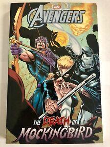 NEW-TPB-AVENGERS-DEATH-OF-MOCKINGBIRD-tp-omnibus-Marvel-Comics-FREE-COMBINED-S-H