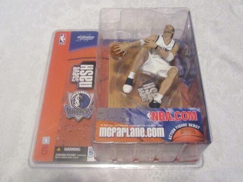 McFarlane NBA Series 5 Steve Nash Chase Variant White Print Error Packaging