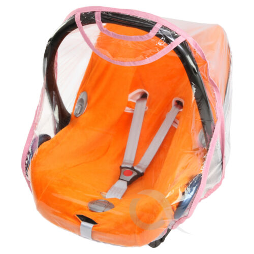Quality Car Seat Rain Cover 0//11kg Carseat Raincover New TOP QUALITY baby pink