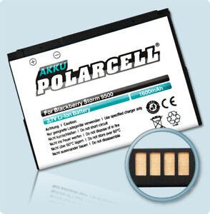 PolarCell Battery for BlackBerry Storm 9500 9530 Storm 2 9520 9550 D-X1 1600mAh