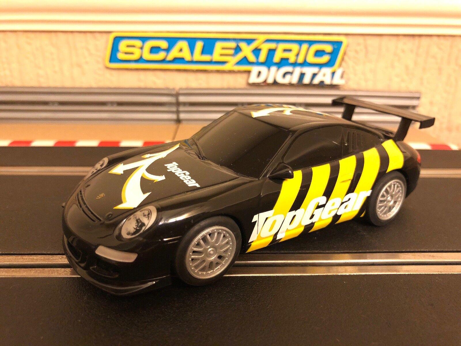 Scalextric Digital Porsche 997 Top Gear C3071 Mint Condition