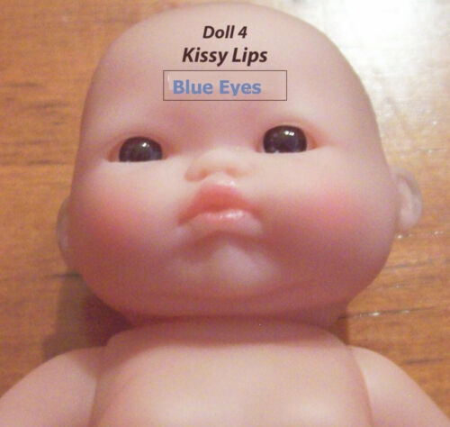 """5 NEW Berenguer Lots to Love 5/"""" Inch Baby Dolls Itty Bitty Craft Sale Adorable!"""