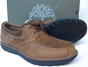 Details about Timberland Barrett Park 2 Eye Boat Shoes Light Brown Non Marking TB0A14OT