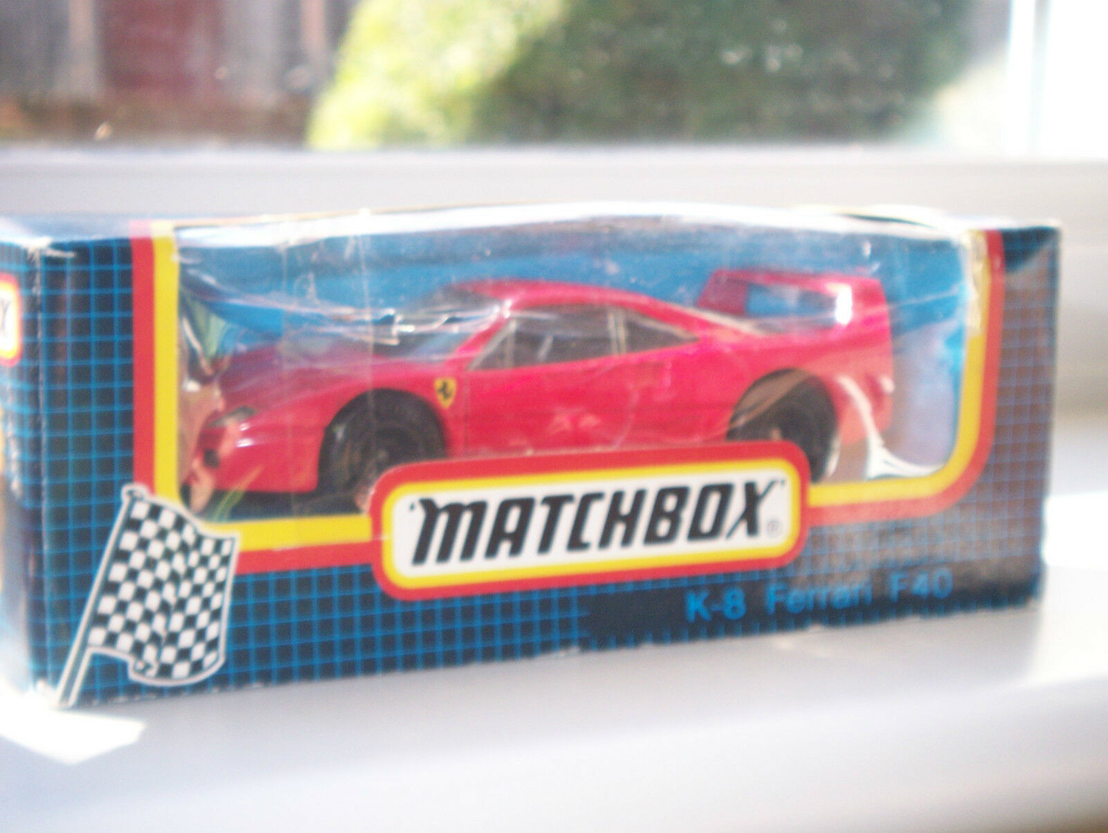 MATCHBOX-FERRARI F40- SUPERKINGS WITH BOX,SPECIAL EDITION