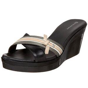 Rockport Sandalias Rachel Ribbon Slide Zapatos Mujer 38 Zuecos Mulas UK5 Nuevo