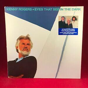 KENNY-ROGERS-Eyes-That-See-In-The-Dark-1983-Vinyl-LP-EXCEL-BEE-GEES-Dolly-Parton