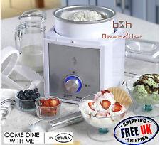Cisne vienen cenar conmigo 2l Ice Cream Maker Gelato Sorbete yogures congelados máquina