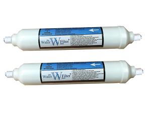 2 Filtres à Eau Réfrigérateur Frigo Américain Compatible DAEWOO SAMSUNG LG BOSCH