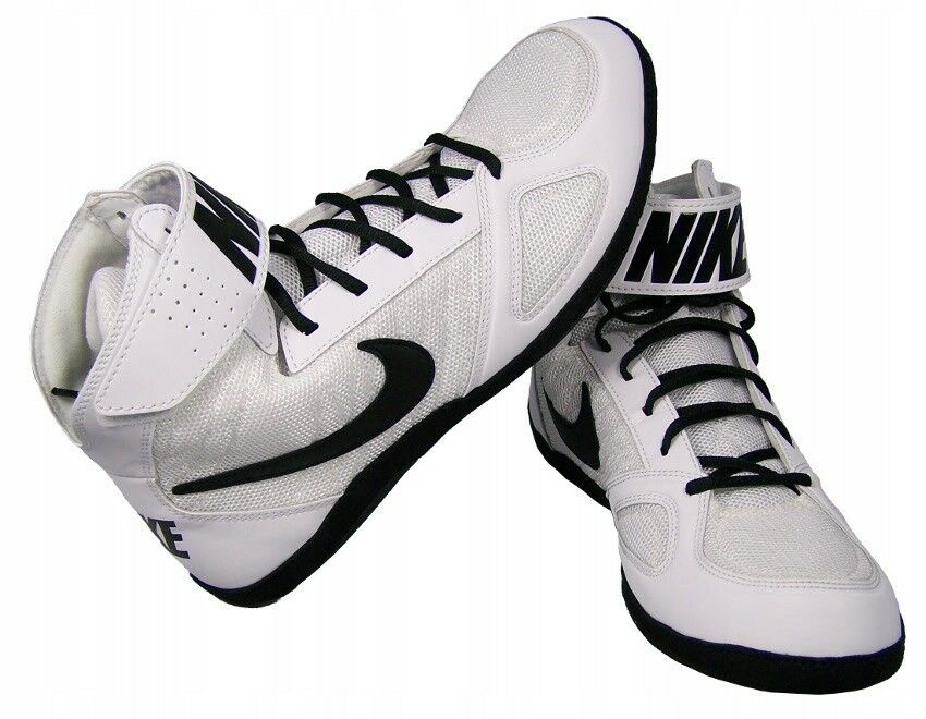 Nike Lutte Boxe Chaussures Takedown 366640 100 bagueERchaussures Chaussures de lutte