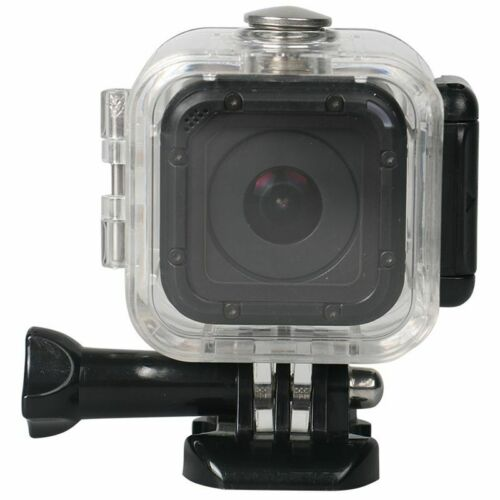 CARCASA impermeable de buceo Funda Protectora Cubierta para GoPro Hero 4 Session 5 E4N8