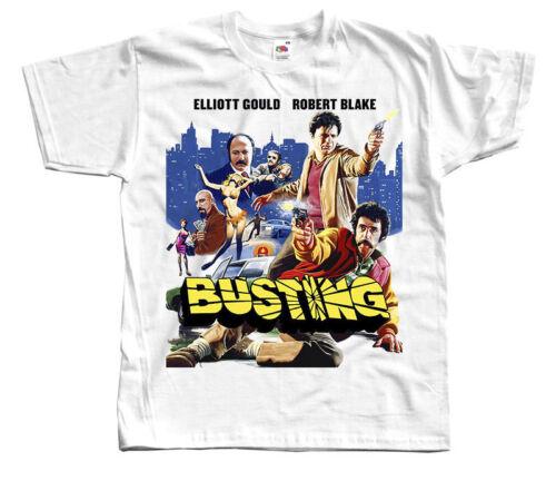 movie poster Busting 1974 T Shirt Toutes Tailles S à 5XL