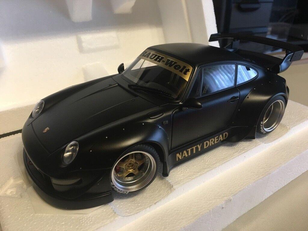 Porsche 993 RWB schwarz 1 18 Autoart neu & OVP 78154  | Realistisch
