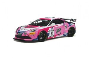 Alpine A110 GT4 #8 Team Speed Car 2020 - 1:18 - Otto Mobile