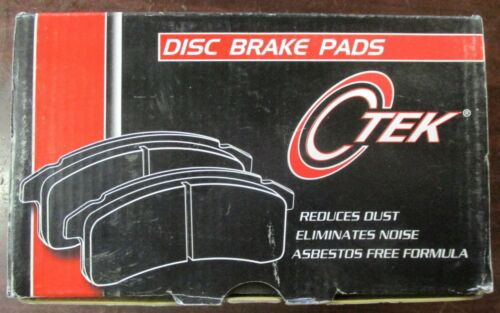 BRAND NEW CTEK FRONT BRAKE PADS 102.09240 D924 FITS VEHICLES ON CHART