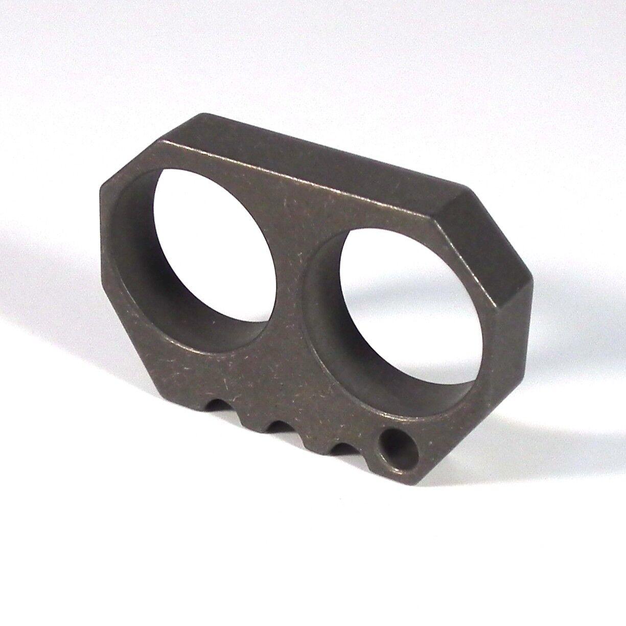 Titanium EDC MULTI TOOL SECURITY SURVIVAL knukle dusters  FINGER OUTDOOR BIKE  large discount