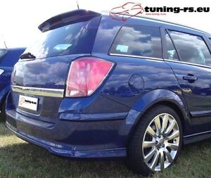 opel astra h caravan dachspoiler opc tuning ebay. Black Bedroom Furniture Sets. Home Design Ideas