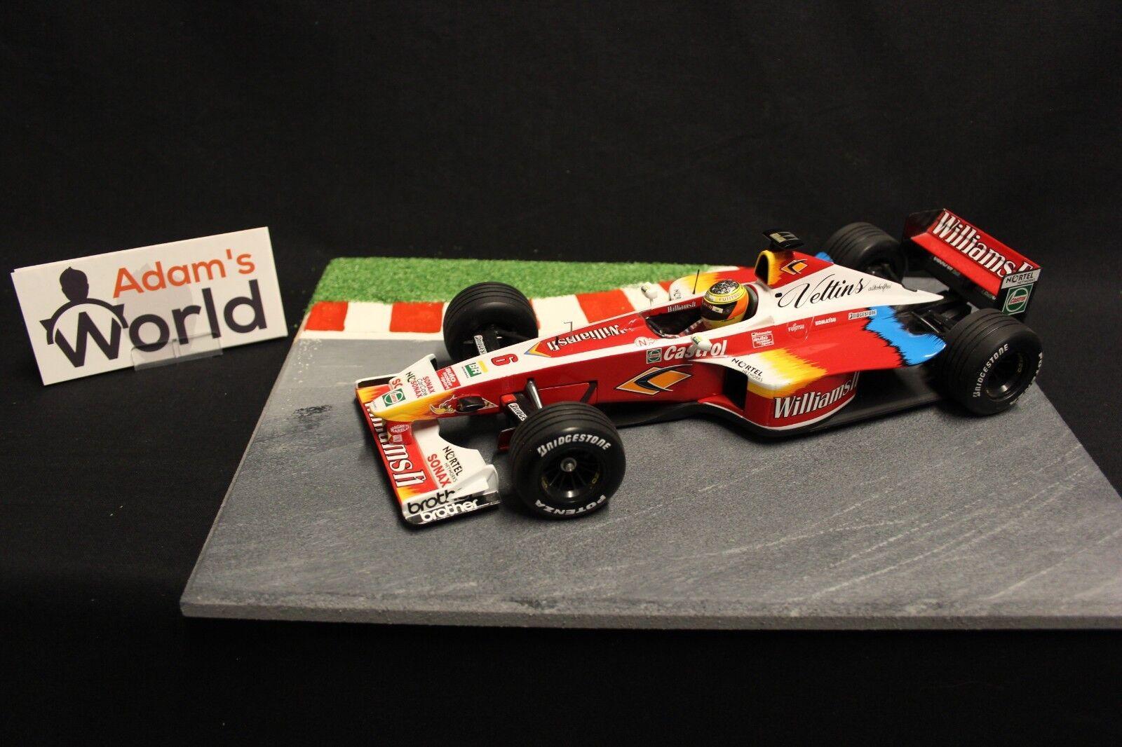 Hot Wheels Williams Supertec FW21 1999 1 18 Ralf Schumacher (GER) (F1NB)