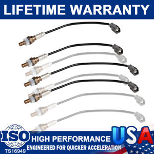 4Pack Upstream & Downstream Oxygen O2 Sensors For 2003 2004 Toyota 4 Runner 4.7L