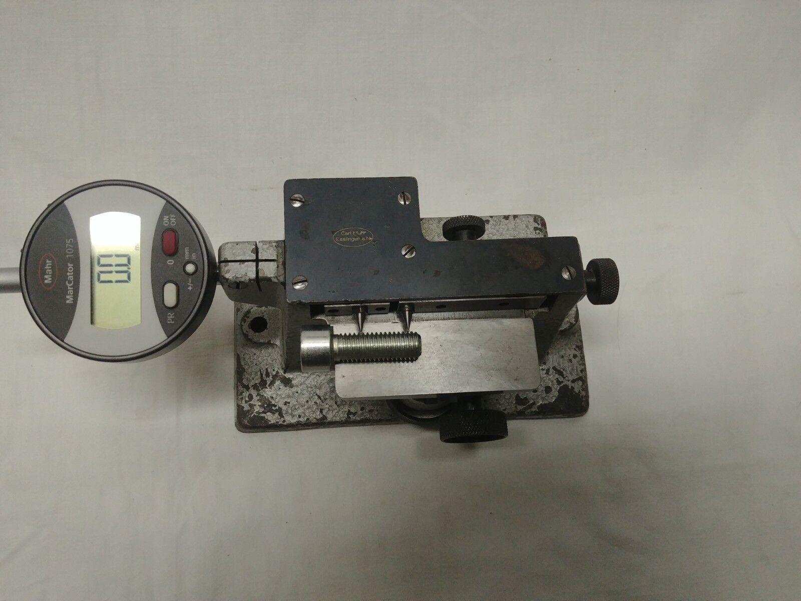 Mahr Gewinde steigungsprüfer thread measuring tool Gewindesteigung prüfgerät | Ästhetisches Aussehen  | Garantiere Qualität und Quantität  | Verrückte Preis