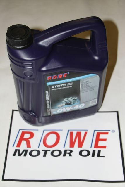 5 Liter ROWE Hightec Synth RS SAE 0W-40 Porsche A40 MB 229.5 AMG BMW