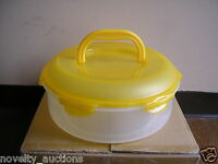 Hsm954h Lock And Lock 23 Cup Pie Cake Storage Container With Handle