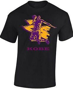 Kobe-Bryant-24-T-SHIRT-Short-Sleeve-Adults-amp-Kids-Basketball-T-Shirt