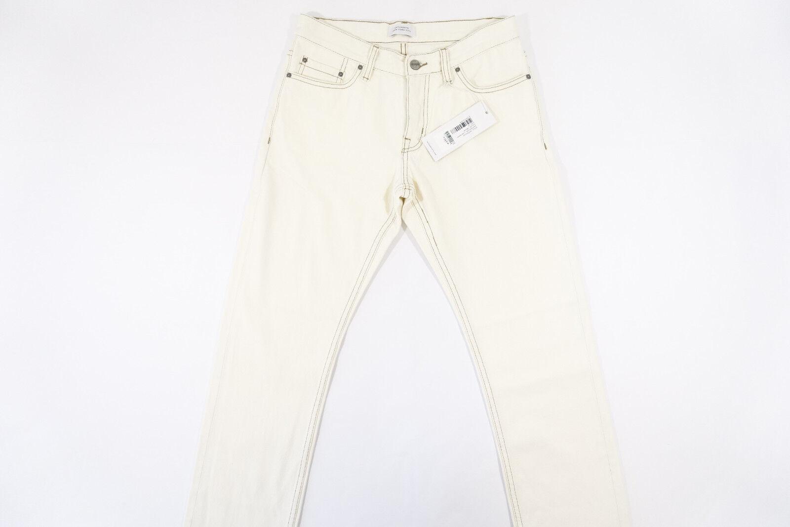 Saturdays New York City Luke Jeans Naturale Bianco Sporco 29 29 29 Vestibilità Slim 3d95da