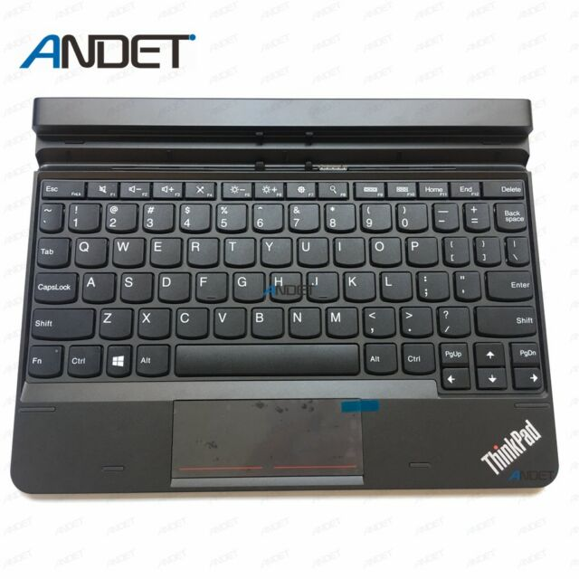 New TPK for Lenovo ThinkPad 10 Ultrabook US Keyboard 4X30E68103