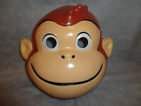 Curious George Monkey Halloween Mask Pvc Child Size