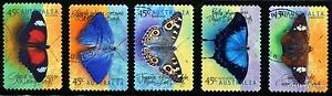 1998-Butterflies-S-A-Bulk-100-Sets-CV-450-Fine-Used-Stamps-SG1815-19-Australia