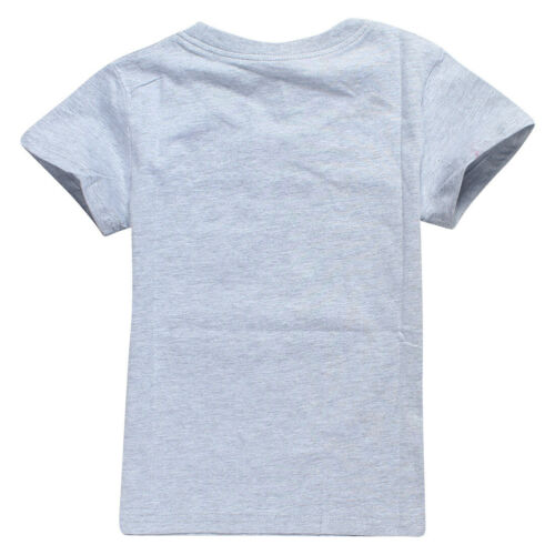 100/% Cotton UNSPEAKABLE Kids Children Short Sleeve T-Shirt Tops Tee For Age 3-12