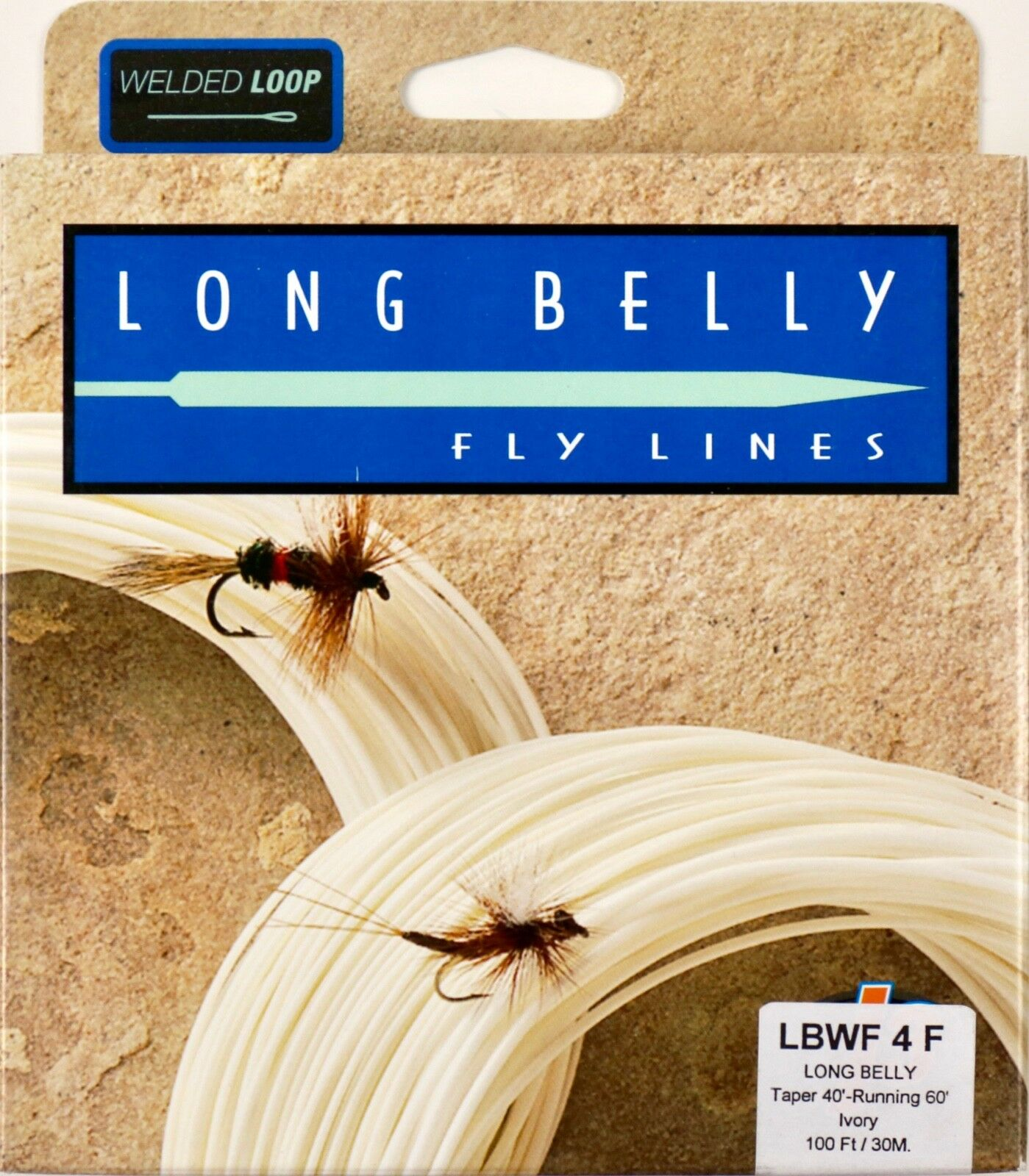Royal Wulff Long Belly 4 WT Floating Fly Line Ivory Free Fast Shipping LBWF4F