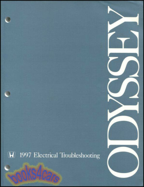 Odyssey 1997 Honda Shop Manual Service Repair Book Electrical Wiring Diagrams