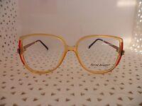 Terri Brogan 8801-30 Yellow Red Vintage 80's Womens Eyeglasses (rj4)
