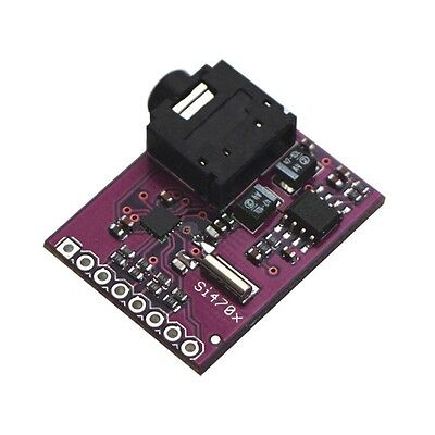 1PCS NEW Breakout Board Si4703 FM RDS Tuner For AVR ARM PIC Arduino Compatible