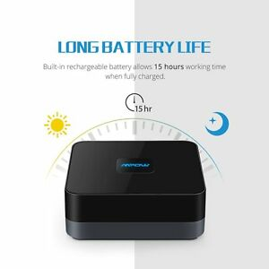 mpow bluetooth 4 1 musik receiver empf nger dongle stereo. Black Bedroom Furniture Sets. Home Design Ideas