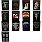 METALLICA Sew On Back Patch - Patches NEW OFFICIAL 14 designs to choose from
